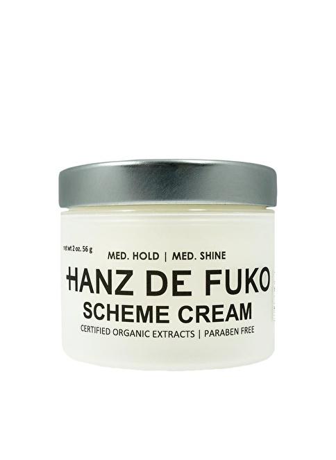 Hanz De Fuko Scheme Cream Orta Tutuş Sağlayan, Orta Derece Parlak Görünümlü Wax 56 Gr Renksiz